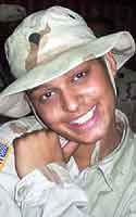 Army Spc. Frances M. Vega  Died November 2, 2003 Serving During Operation Iraqi Freedom  20, of Fort Buchanan, Puerto Rico; assigned to the 151st Adjutant General Postal Detachment 3, Fort Hood, Texas; killed Nov. 2 in an attack on a CH-47 Chinook helicopter near Fallujah, Iraq.