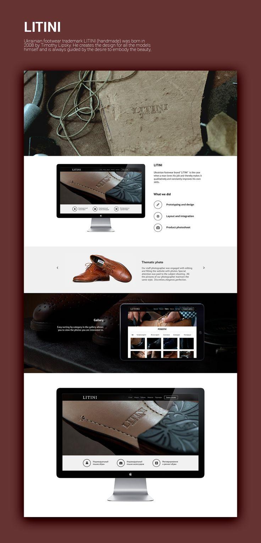 LITINI Website on Behance