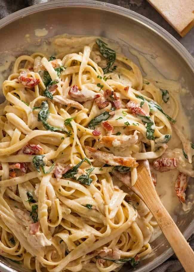 Chicken Pasta Of Your Dreams Recipe Creamy Chicken Pasta Recipes Chicken Pasta Recipes Recipes