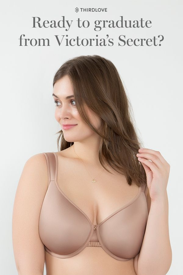 """""""I've always worn Victoria's Secret bras, and I've never loved them. But I figured that's just how bras are: kind of frustrating, requiring constant adjustments during the day. When I got my Third Love bra, I put it on and then immediately threw my other"""