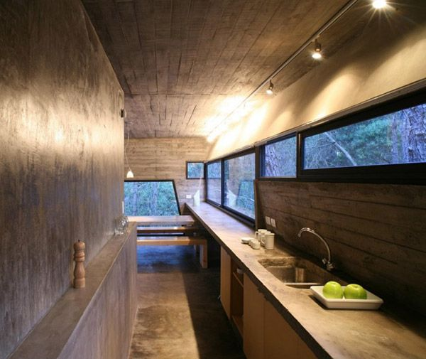 Amazing Concrete Kitchen