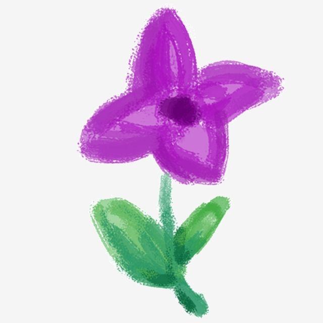 Gambar Ilustrasi Gratis Bunga Ungu Cabang Hijau Kartun Digambar Tangan Pola Digambar Tangan Png Transparan Clipart Dan File Psd Untuk Unduh Gratis Bunga Ungu Ilustrasi Bunga