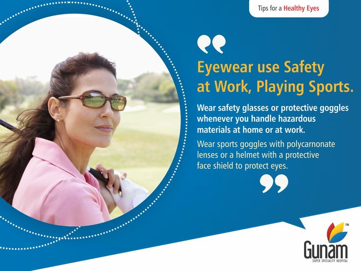 Most protective eyewear lenses are made of polycarbonate, which is 10 times stronger than other plastics. Visit:http://gunamhospital.com/ #GunamSuperSpecialityHospital #healthtips #Healthcare #HospitalinHosur #healthyindia #eathealthy
