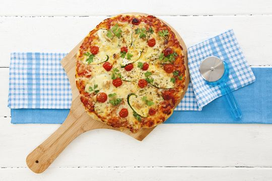 Looking for yummy lunchbox ideas? With a choice of three different toppings this pizza recipe is sure to please.