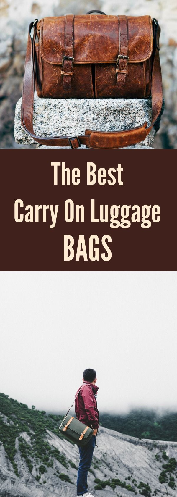 This list will help you when packing for your next flight. These are some of the best carry on luggage bags!