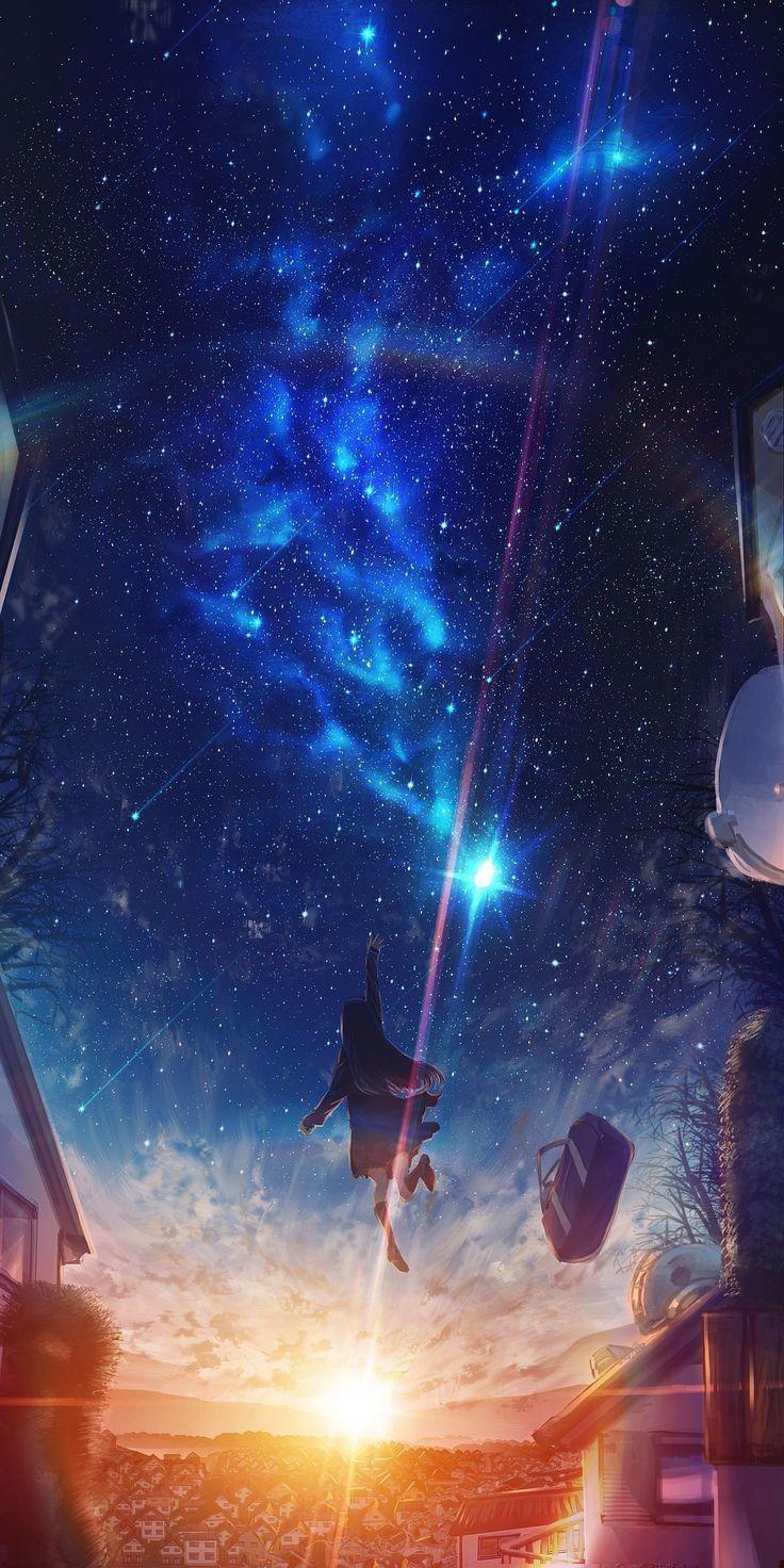Pin oleh ²𝕯 𝓐𝓻𝓽 ࿐ di wallpaper di 2020 Pemandangan anime