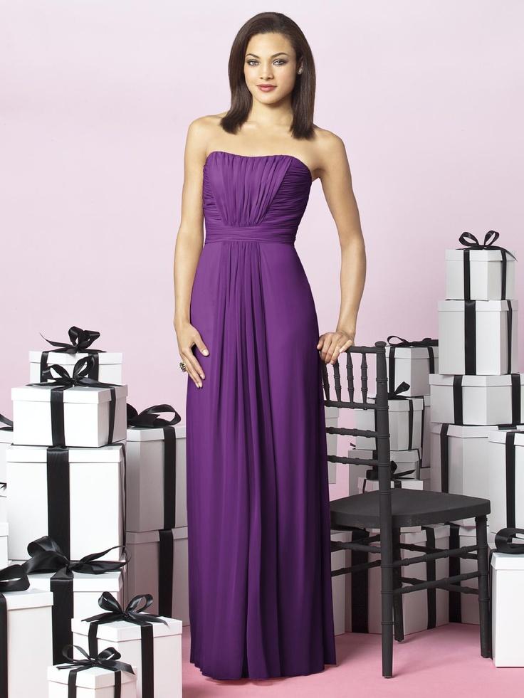 16 best Bridesmaid Dresses - Purple images on Pinterest | Bridal ...