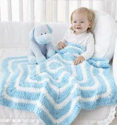 Star Blanket - who cares about the guage?  Keep doing rounds until you have the desired size!  LOVE IT!