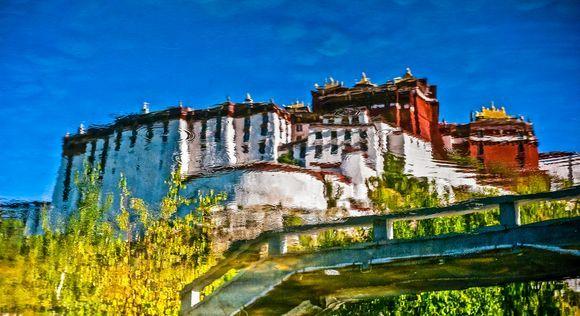 The Potala Palace. Lhasa. Tibet