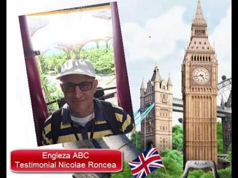 Engleza simplu ca ABC Testimonial Nicolae Roncea