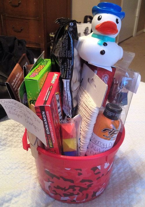 New Dad Survival Kit - click picture to see all items!