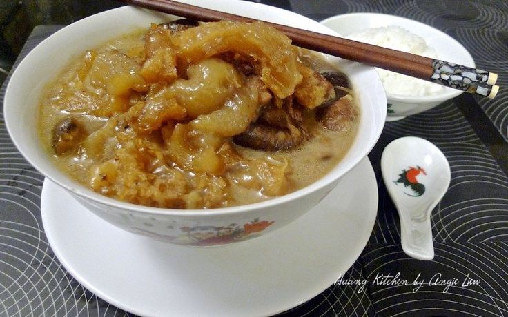 Braised Sea Cucumber With Fish Maw is a simple dish every Chinese family can relate