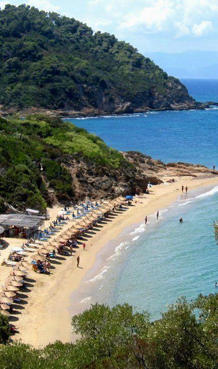 Small Banana beach ~ Skiathos Island (Sporades), Greece