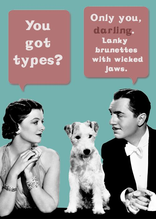 """To which the dog replies- """"That's A Bit Sexist"""" !"""