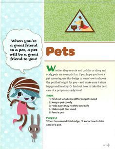 Brownie A World of Girls Pets Badge on Pinterest | Badges ...