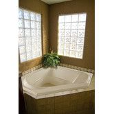 "Found it at Wayfair - Designer Clarissa 55"" x 21"" Whirlpool Tub with Combo System"