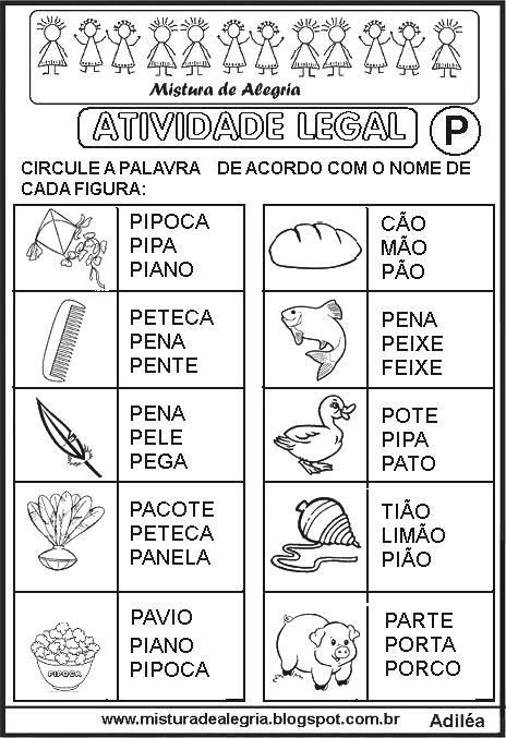 sequencia-alfabetica-atividade-legal-alfabetizacao-P-imprimir-colorir.JPG…