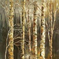 gathering-woodsmen-f Art Prints by Tatiana Iliina