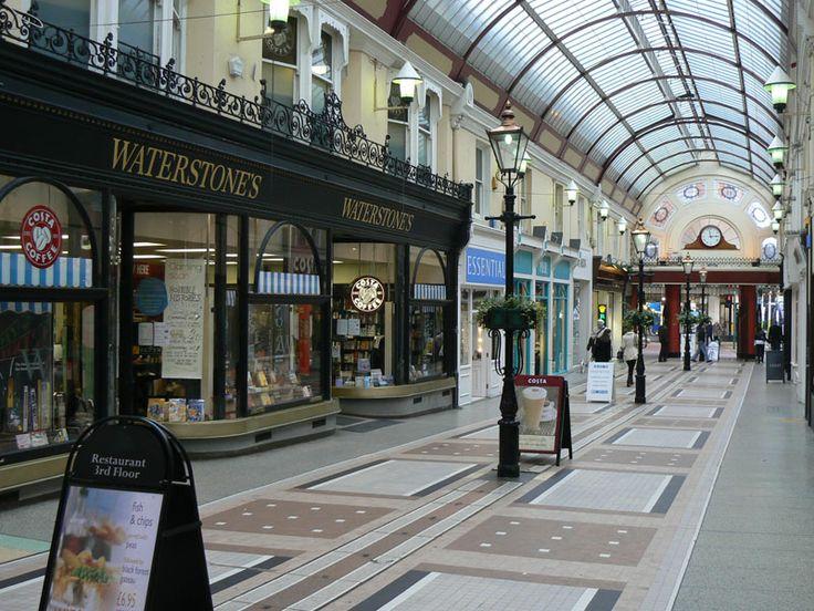 The Arcade in Bournemouth nahe der Sprachschule