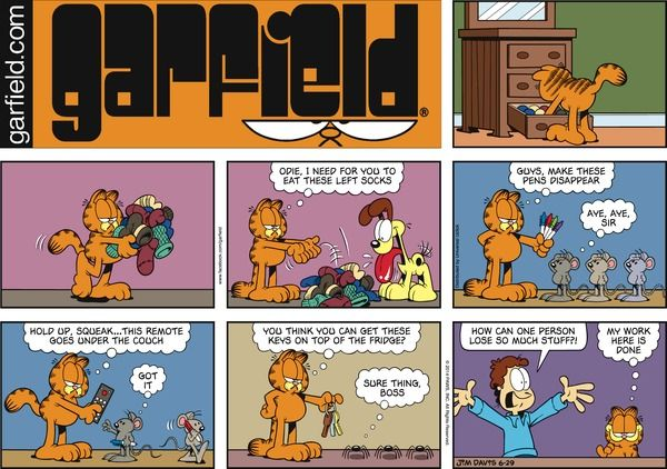 Garfield for 6/29/2014 | Garfield | Comics | ArcaMax Publishing