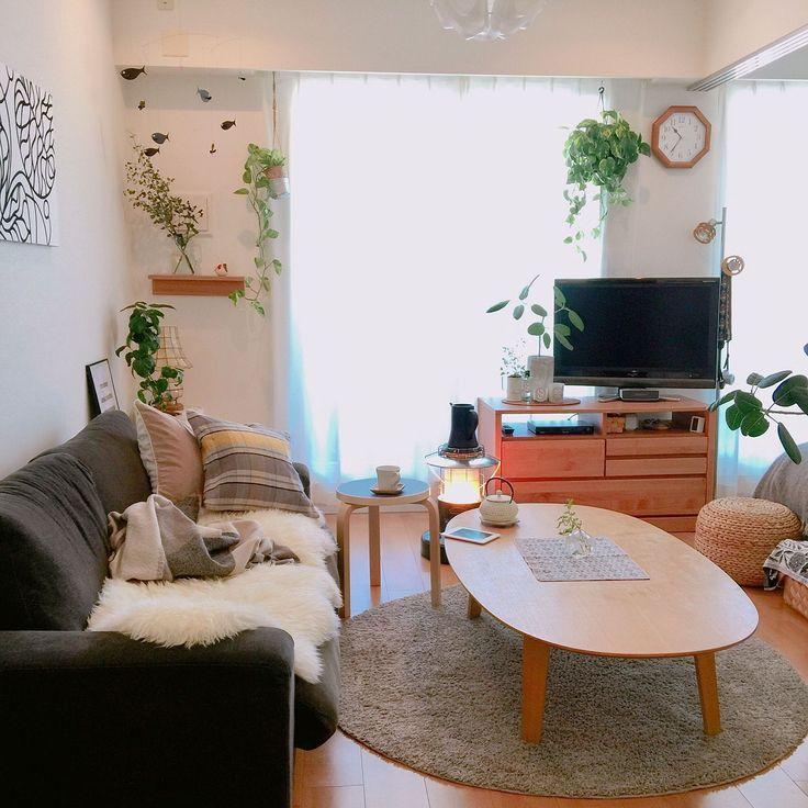 無印良品 壁に付けられる家具/フレンステッドモビール/ファブリックパネル/マリメッコ…などのインテリア実例 - 2017-01-14 10:43:53   RoomClip(ルームクリップ)