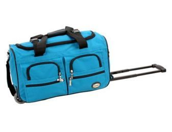 Rockland rolling luggage duffle Bag