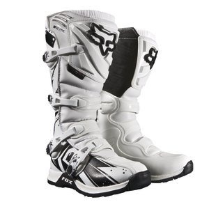NEW FOX RACING WHITE MENS ADULT COMP 5 UNDERTOW MOTOCROSS MX ATV BOOTS RIDING