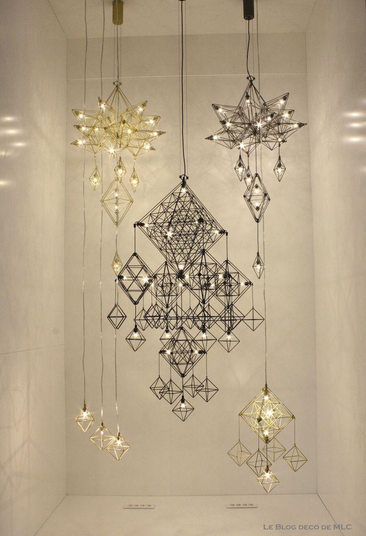 les 199 meilleures images du tableau luminaires sur pinterest lustres luminaires et design. Black Bedroom Furniture Sets. Home Design Ideas