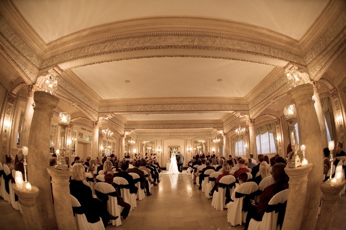 Ceremony in the Isabella Ballroom at The Davenport Hotel.: Plans Yeah, Hotels Spokane, Happy Couple, Ideas 3, Davenport Hotels, Davenport Collection, Ballrooms Ceremony, Isabella Ballrooms