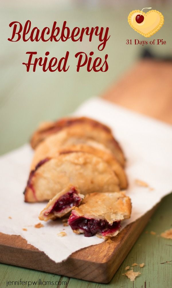 Blackberry Fried pies are a delicious alternative to a regular pie with the bonus of being cute and portable.