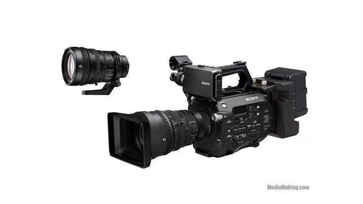 SONY PXW-FS7 La telecamera XDCAM PXW-FS7 offre un design con impugnatura ergonomica, che ne agevola la maneggevolezza e l'operatività, e la rende ideale per essere utilizzata da un solo operatore in situazioni in cui la straordinaria flessibilità del suo sistema di attacc…