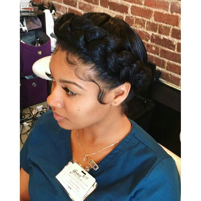 Pin By Kearston Hardaway On Natural Hair Protective Relaxed