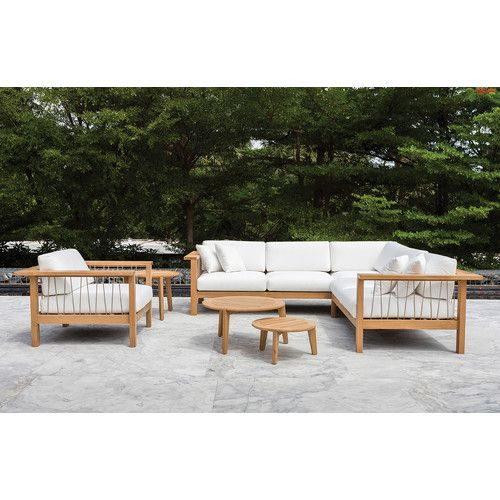 Found it at Wayfair - Maro Lounge Left Seating Group with Cushion