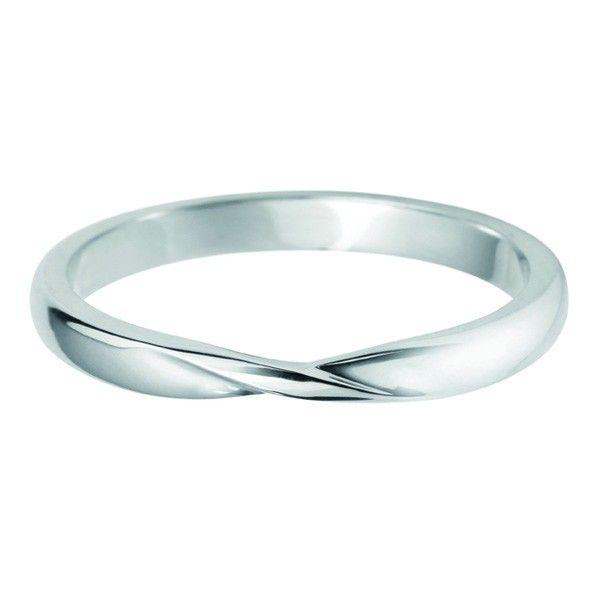 Ladies Platinum Palladium 18ct 9ct Ribbon Twist Wedding Band Available At Neweys Jewellers Birmingham