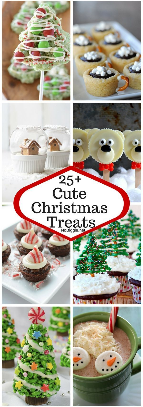 25+ Cute Christmas Treats