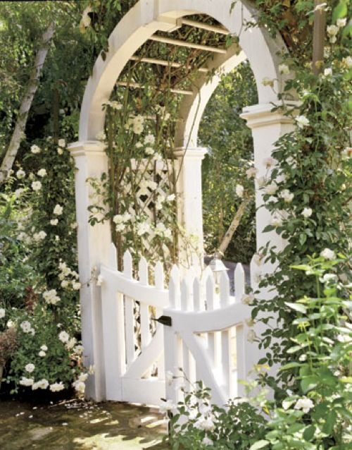 126 Best Images About Fences Arbors And Gates On Pinterest
