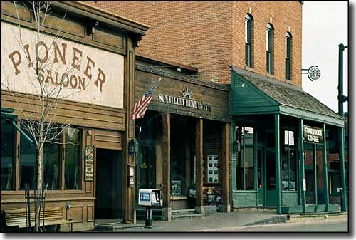 """In """"Downtown"""" Ketchum (central) you will find the Pioneer Saloon,  also known as The Pio.  Home of the best ribs in the entire world located by the best ski resort in the world, aka Sun Valley.  What a pair!"""