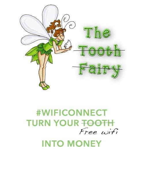 #wificonnect turn your free wifi into money