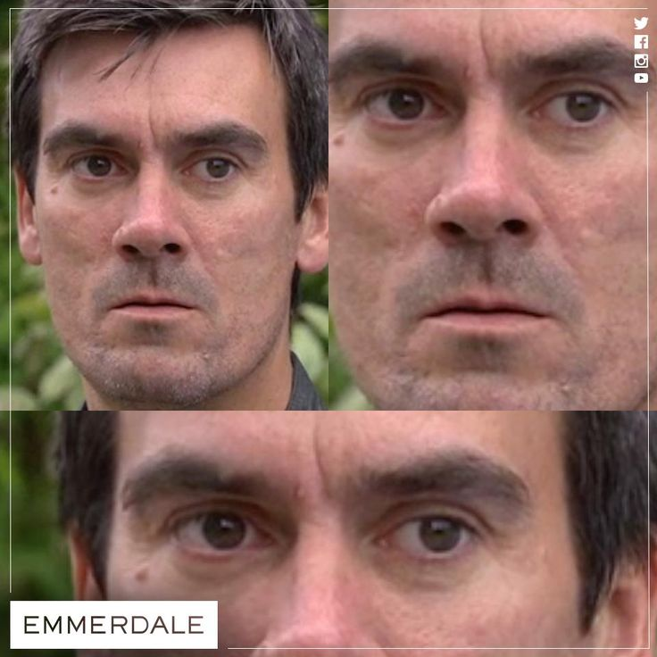 Cain's giving the **STARE** - RUUUNNN! #NeverCrossADingle #Emmerdale