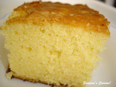 Kerala Sponge Cake / Ghee Cake (Recipe Source ~Mrs.K.M.Mathew's recipe from Malayala Manorama) Ingredinents: Maida / All purpose flour-250g...