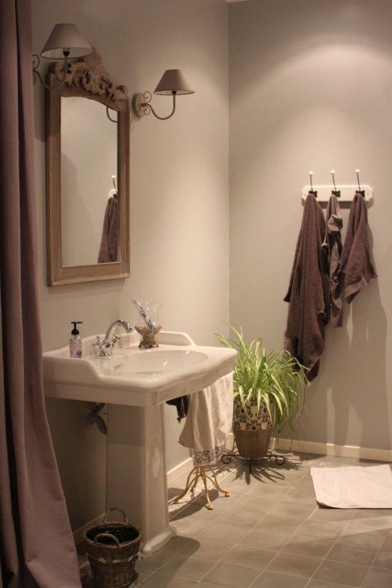 salle de bain romantique bathrooms pinterest salle de bain romantique bain romantique et. Black Bedroom Furniture Sets. Home Design Ideas