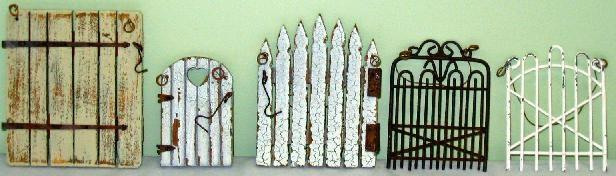 miniature garden gates
