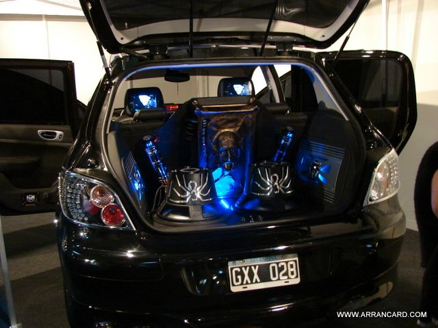 Tuning Car Audio Expo El Garage Motor Show 2008 Pinterest