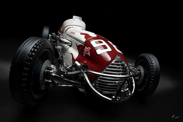 1952 Agajanian Special Race Car Indy 500 Winner