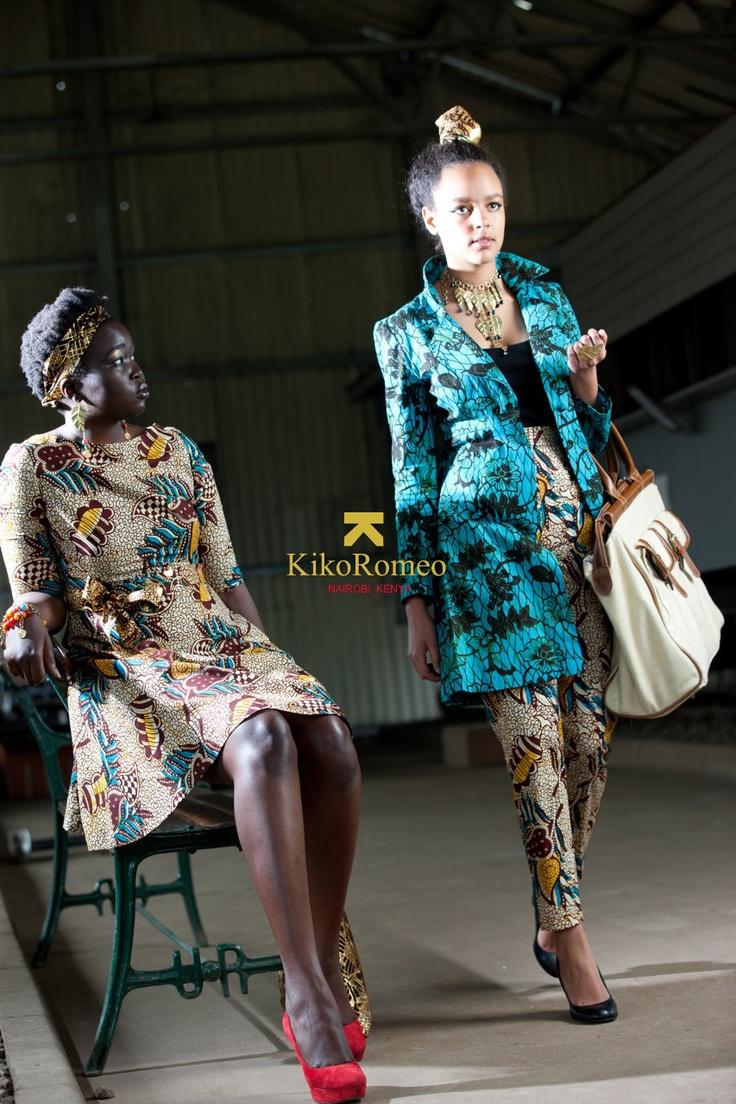www.cewax.fr aime ce créateur afro tendance, style ethnique, tissus africains. Dans le même style, visitez la boutique de CéWax : http://cewax.alittlemarket.com/ #wax, #ankara, #kente, #kitenge, #bogolan, #Africanfashion, #ethnotendance, #AfricanPrints - Kiko Romeo - Railways Museum Shoot