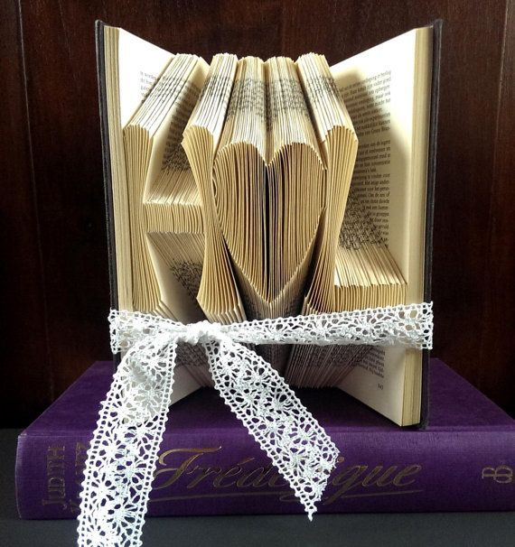 Lovers Initials with a heart - Original Wedding Gift idea - Anniversary present - Boyfriend - Girlfriend - First anniversary - 3D - Paper