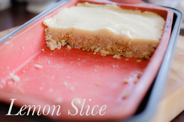 {Recipe} Lemon Slice - Thermomix Style