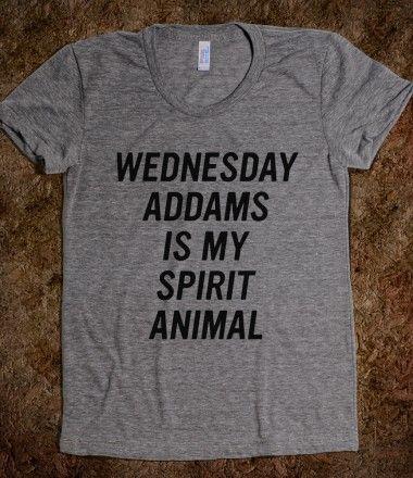 Wednesday Addams is my spirit animal