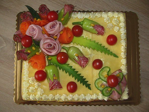 NapadyNavody.sk | 40 najkrajších inšpirácií na slané torty z českých a slovenských domácností
