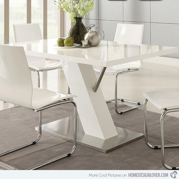 Modern White Dining Room Sets best dining room tables white ideas - room design ideas